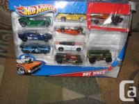 Hot Wheels 10 Car Packs deliver ten of the coolest 1:64