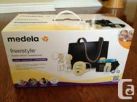 I'm selling a brand new Medela Freestyle double