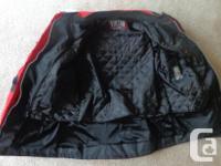 Brand New, Men's XL Textile Motorcycle jacket $125.00
