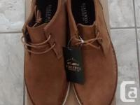 Brand New - Mens Blackwell Tan Shoes in excellent