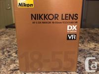 Looking to sell this brand new - in box lens. It came