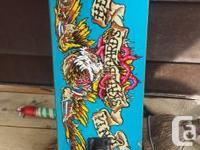 So I bought my skate board when I got a big tax return