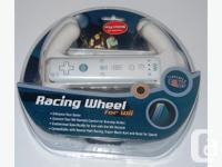Product Description The Wii Wheel gives you a fun,
