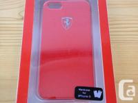 This is a brand new Ferrari Case. It's for the iPhone 5