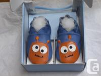 Brand new! Robeez soft sole crib shoe. Great Dea! for a