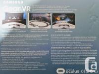 Brand new sealed Samsung Gear VR SM-R322. Compatible
