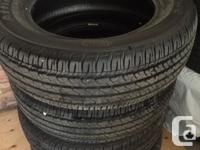For sale brand new set of 4 All Seasons Tires Firestone