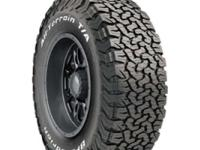 Brand new set of 4 BF Goodrich TA K02 LT 245/75R17.