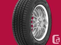 Brand new set of General Tire RT43 all season tires