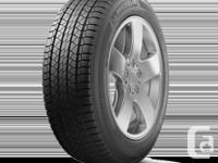 Brand new set of 4 Michelin Latitiude all season tires