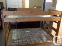 Brand new Single(twin)/Double(full) bunk beds with