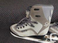 For Sale Brand new CCM Ice Skates Size 2 Girls Can be