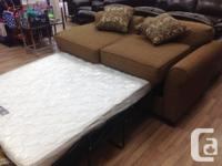 Brand new sofa bed/hide-a-bed...$849 taxes in. Comes