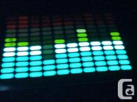 T-shirt lights up to sound & music! EMAIL for more