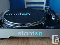Selling my brand new Stanton T.62 turntable. Still in