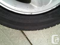 Set of 4 plus the spare tires 90% tread left on them