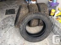 Selling a BRAND NEW set of 4 Hankook Dynapro AT-m