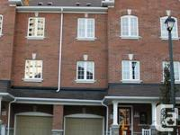 Beautiful Brand New 3 Storey Town Home! 3 Bedrooms, 4
