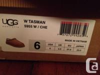Hello, I am selling a pair of Woman's UGGS, The Tasman