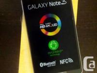 Brand new Samsung Galaxy Note 3 - Factory Unlocked - No