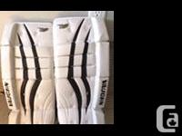 Brand new goalie pants never used Pick up in Nanaimo or