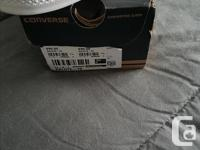 I have a brand new in the box pair of white Chuck