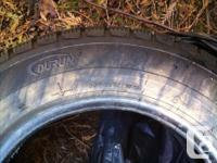 Set of 4 brand new Durun winter tires, does not include