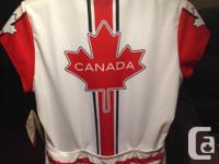 Never been worn Women's large Canada Sugoi jersey with