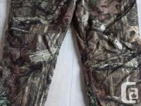 Insulated Yucon Camo pants xxL. 45.00 Brown Dickies.
