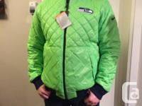 Brand-new with tags - Nike brand - Seahawks Jacket