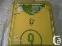 Brasil soccer jersey brand new in box only 5000 made