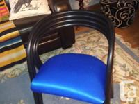 Can be used in a small spaces, chairs are made of solid