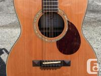 The Breedlove Cascade Revival 000/CRe pairs a solid