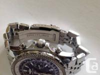 Hi, I am offering my Breitling For Bentley Motor watch