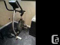 Bremshey Cardio Pacer exercise bike in mint condition.