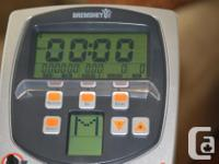 Electronic exercise bike in excellent condition (5 yrs.