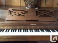 For Sale Brentwood piano  $300  pick up only no