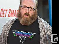 2 tix to The Big Show - Brian Posehn at Hecklers Bar