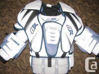 Brians Sub-Zero Pro Hockey Goalie Chest & Arm Protector