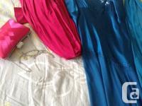 I am selling my fuchsia pink bridesmaid dress size L