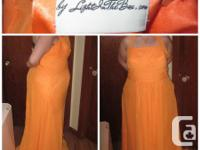 this bridesmaids dress was made use of just when; it is