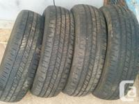 Four tires available off of a Chrysler Community & &