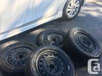 4 winter tires Bridgestone Blizzak WS (205/55R16) with