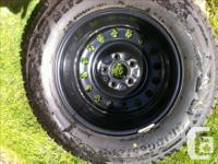 new bridgstone blizzak DM-V2 245/65r17 M&S dot dbd1618