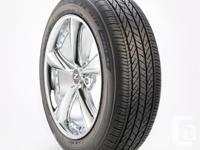 Set of 4 Bridgestone Dueler H/P Sport AS tires size