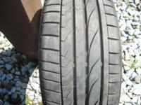 4 Bridgestone RE050A 205/40R 17 84W. Only 12 months of