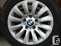 Tires: Bridgestone Turanza Run Flat 205/55R16 - all