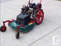 Keep Trail Mate Model TM.26 Self Propelled Power Built