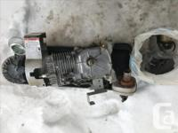 I'm seling an horisontal wrecked engine Briggs &