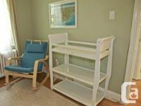 This is a wonderful offer!  White crib that changes to